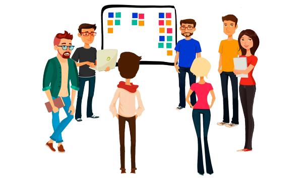 El evento o reunion Daily Scrum Meeting, te permite trazar un plan diaria y controlar los riesgos dia a dia